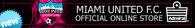 ADMIRAL, OFFICIAL ONLINE STORE of MIAMI UNITED F.C.